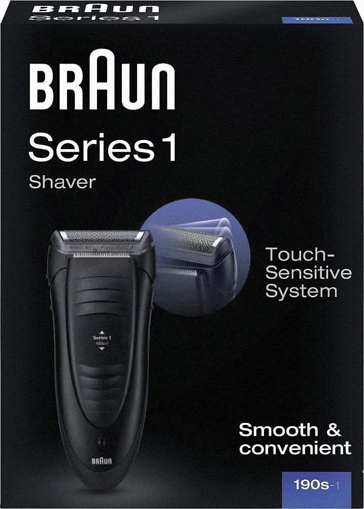 Le Braun Series 1 190s-1, comment faire un comparatif de rasoir électrique sans donner notre avis ?