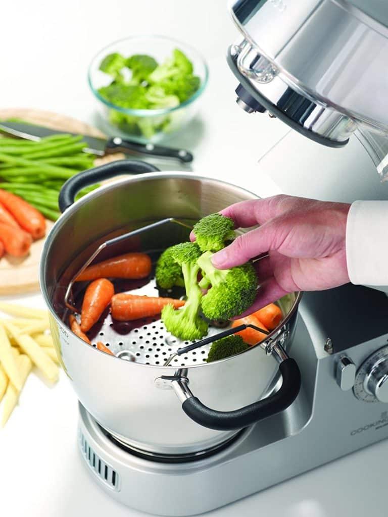 Des brocolis, des carottes, tout ce qu'il faut pour être en bonne santé