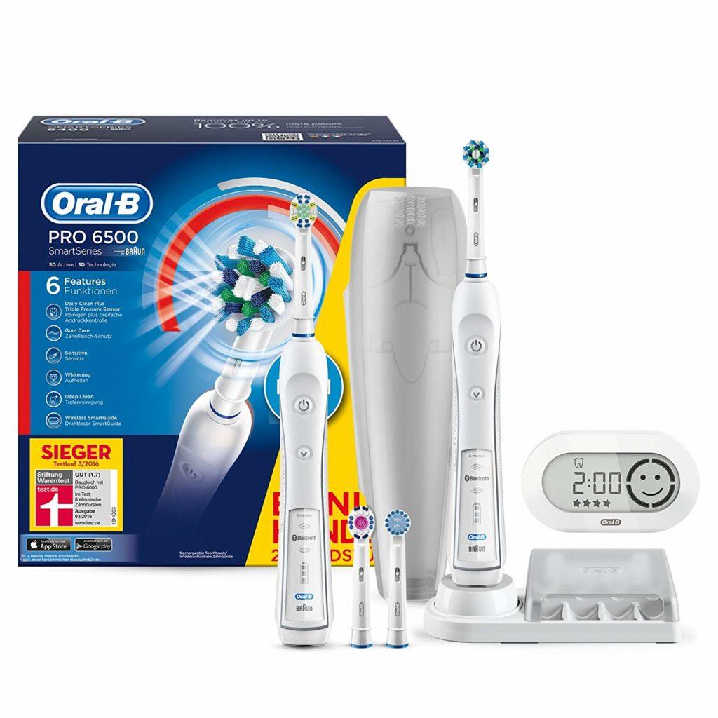 Envi d'avoir des dents blanches et prorpres ? Cette brosse à dent électrique vous sera très utile