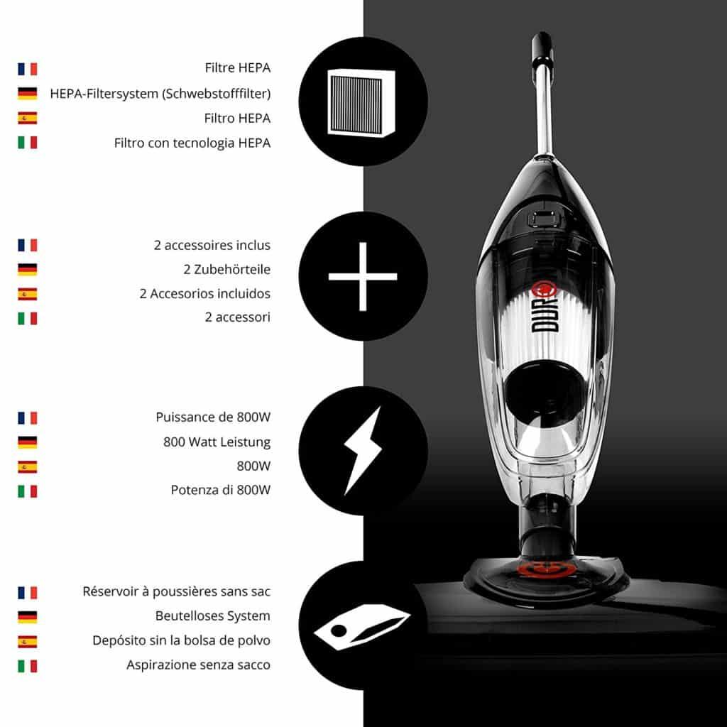 Le Duronic VC7/BK est également fournis avec des accessoires ! Que dire de plus ?