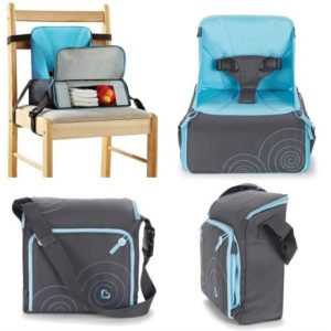 Munchkin siège rehausseur nomade : Un must have? Voici notre test et avis complet !