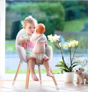 Chaise haute bébé 2 en 1 Kinderkraft FINI : test et avis complet