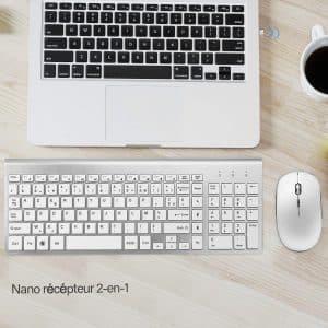 C'est toujours mieux quand le clavier est livré avec des accessoires