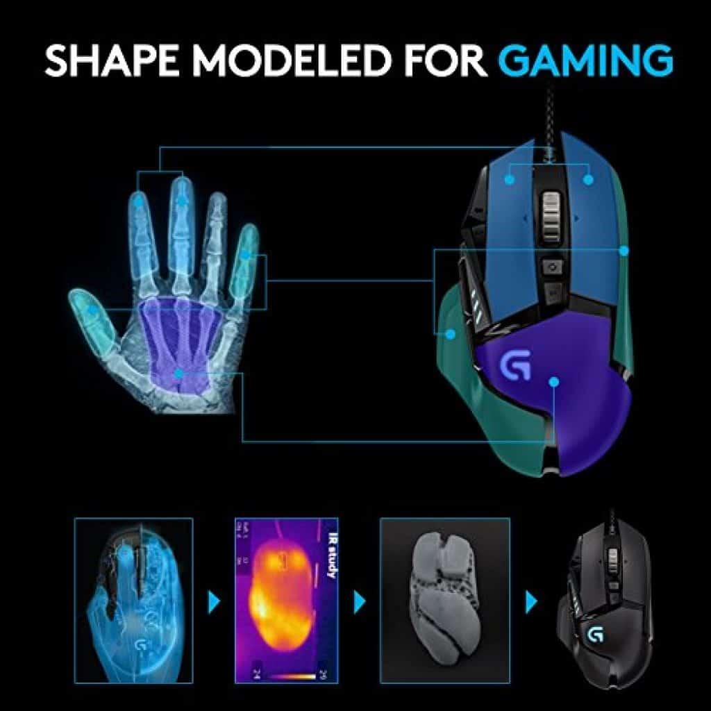 Cette souris gaming est tout simplement parfaite
