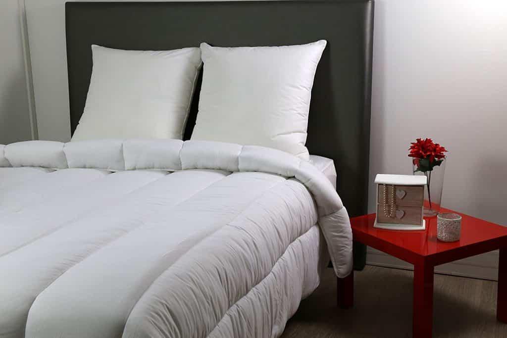 Ce linge de lit est très confortable