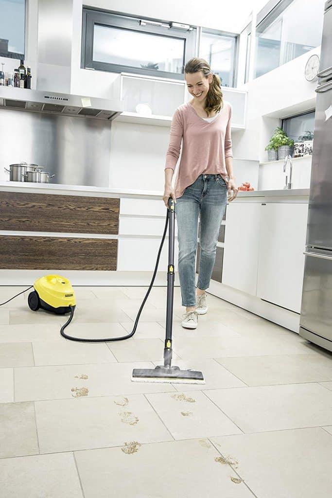 Le ménage devient un plaisir avec le nettoyeur vapeur Kärcher SC 3 Easy Fix