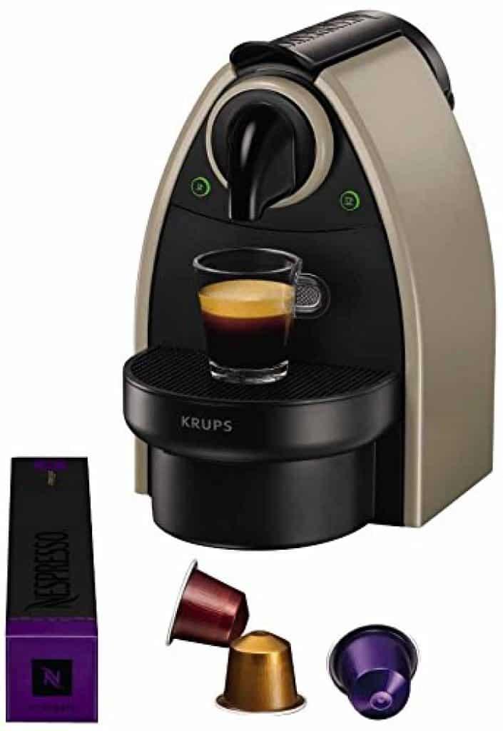 Cette machine à café est très prisée pour son design également