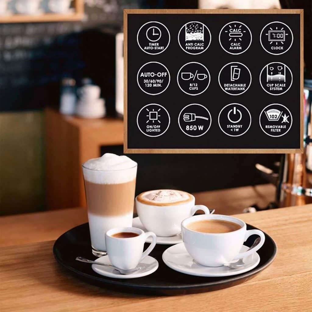 La Cafetière Melitta est capable de produire du café sur mesure