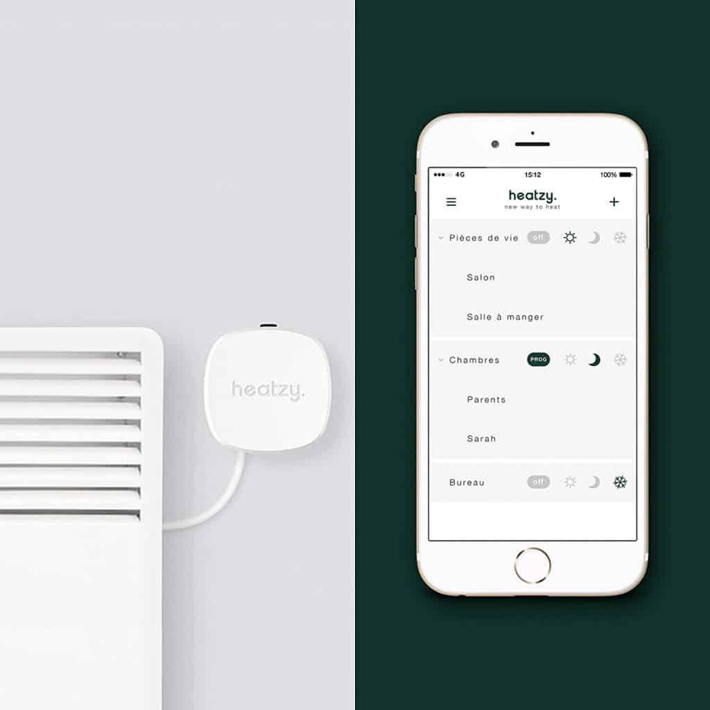 Thermostat connecté Heatzy