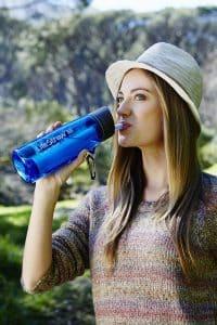 bouteille à filtre Lifestraw Go