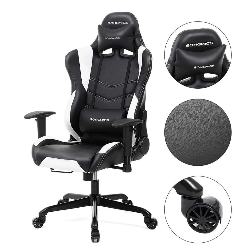 Test chaise gaming SONGMICS