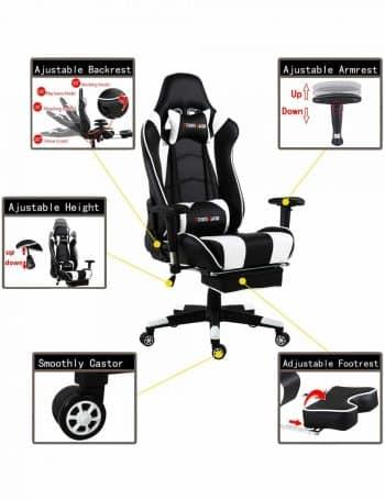 Notre comparatif en ligne vous permet de trouver la meilleure chaise gamer