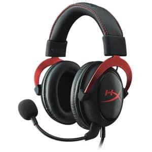 L'HyperX Cloud II Rouge possède un beau design