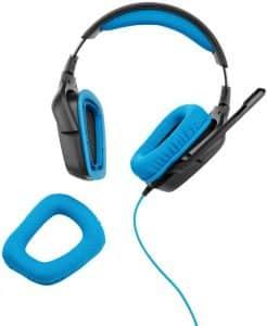 Les coussinets des écouteurs sont respirants et bien dessinés pour un design fermé sur l'oreille