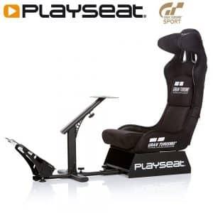 Le Playseat REG.00060 Gran Turismo, un siège baquet conçu pour la simulation de conduite