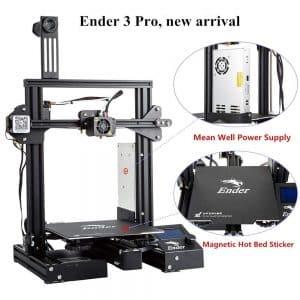 La Creality Ender-3 Pro affiche certaines caractéristiques techniques qu'on ne verra pas chez des modèles plus chers