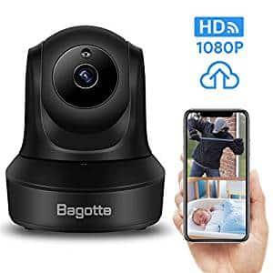 La caméra Wifi Bagotte est équipée d'un capteur HD offrant des images de 1080 p