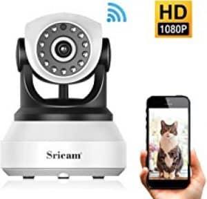 La caméra IP de Sricam assure une vision nocturne avec un angle de vision de 360 °
