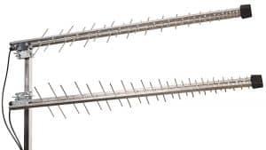 Cette antenne 4G est par sa forme une antenne râteau