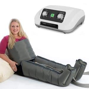 Ce modèle avec bottes et ceinture abdominale est parfait pour traiter les maux et douleurs du quotidien
