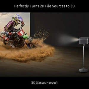 L'appareil embarque également la technologie de qualité cinématographique DLP