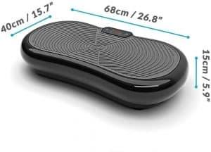 Derrière cette plateforme oscillante au design simpliste se cache un appareil aux performances sans égales