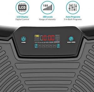 La Bluefin Fitness Plateforme Vibrante et Oscillante Ultra Slim fait partie des appareils en entrée de gamme