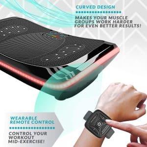 Une plateforme vibrante produit des vibrations avec un mouvement répétitif de la plaque du haut vers le bas