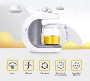 Les robots de cuisine multifonctions proposent de très nombreuses options