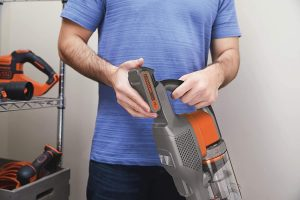 Balai Powerseries Black & Decker autonomie maximum