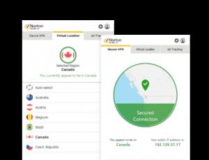 Plusieurs pays sont disponibles sur ce VPN