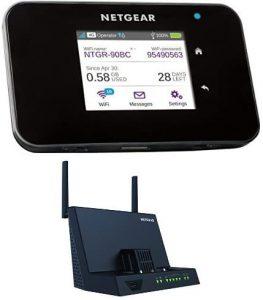comparatif meilleurs routeurs 4G Netgear AC810-100EUS