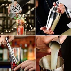 Présentation et avis : AYAOQIANG Shaker Cocktail 23 Pièces.