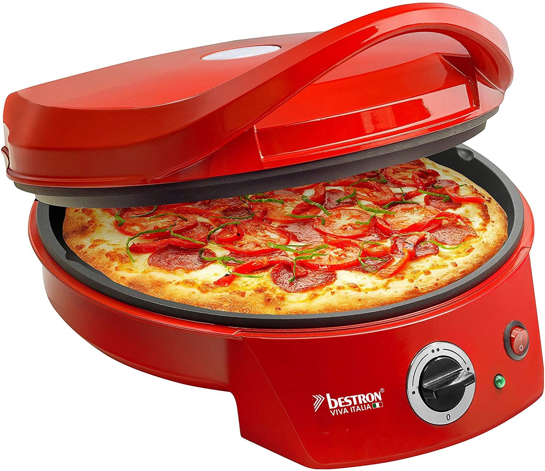 Four à pizza avec gril Bestron Viva Italia caractéristiques