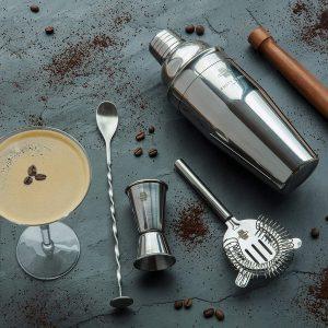 kit à cocktail Rusty Barrel-Coffret à cocktail Mayfair