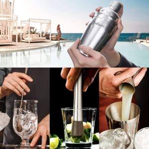 Baban Cocktail Set avec Shaker 22 Pièces avantages