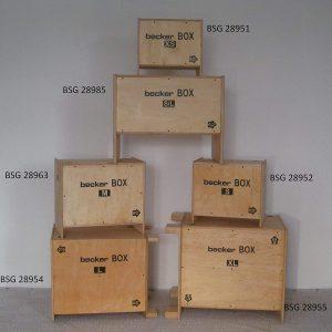 jump box Becker-Sport Germany BECKER BOX XS Weltneuheit caractéristiques techniques
