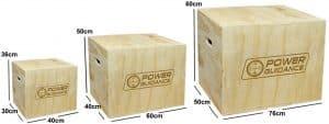 jump box POWER GUIDANCE3 en 1 Plyo Box avantages