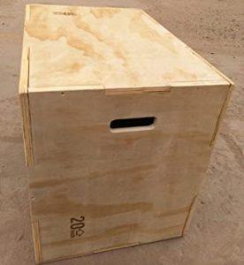 jump box Sveltus Plyobox Bois avantages