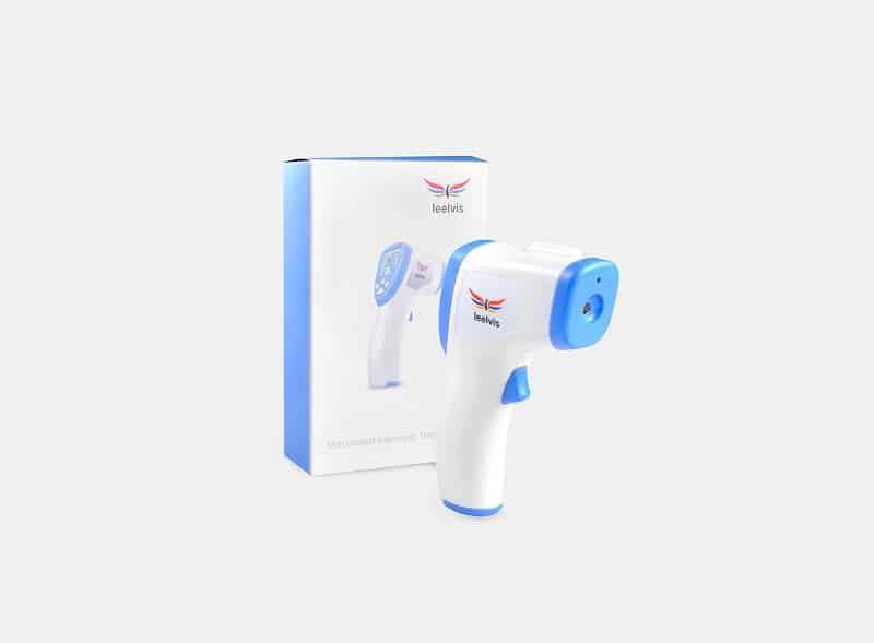 Prendre la température avec ou son contact avec le Live Temp Pro