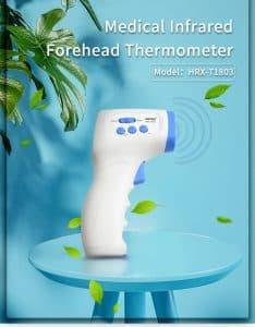 Thermomètre frontal Live Temp Pro